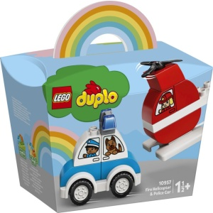 LEGO Duplo My First Fire Helicopter And Police Car (10957)